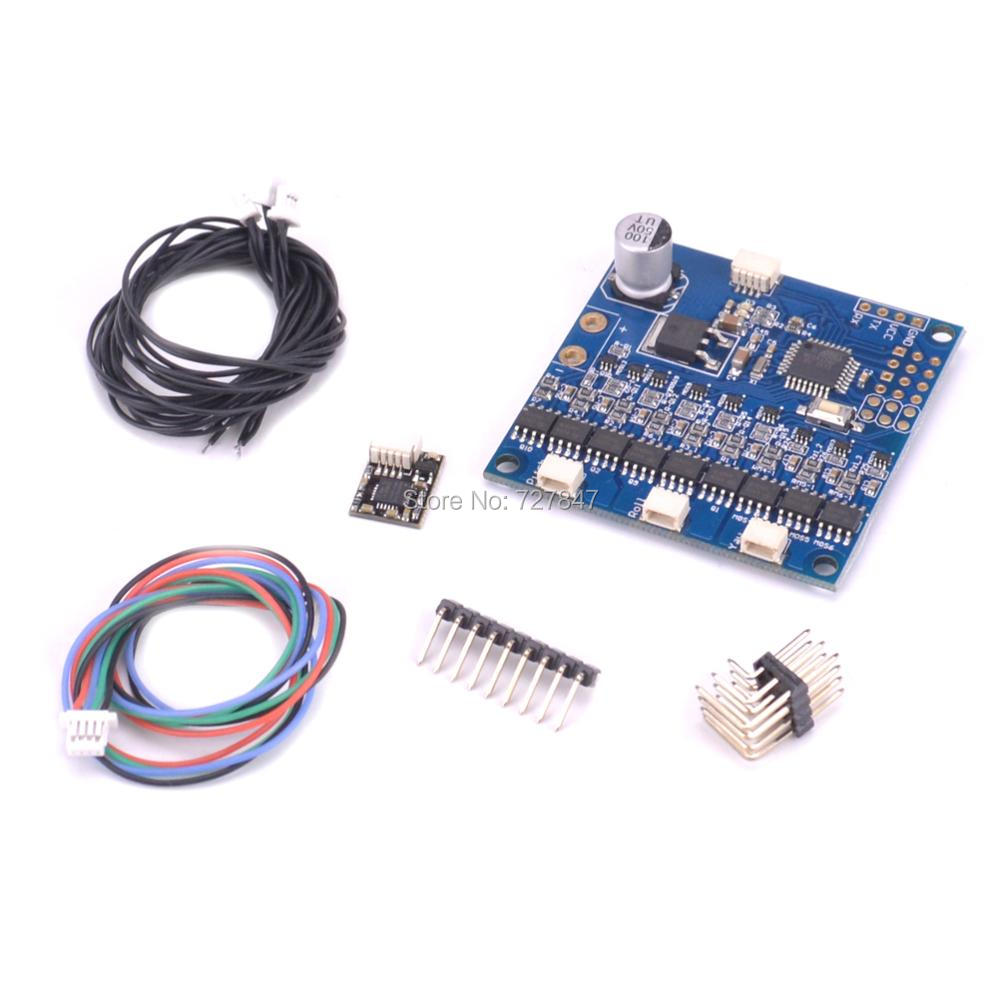 BGC3.55 version of the BGC3.53 three axis integrated brushless PTZ flight control board high current 3 axis control board