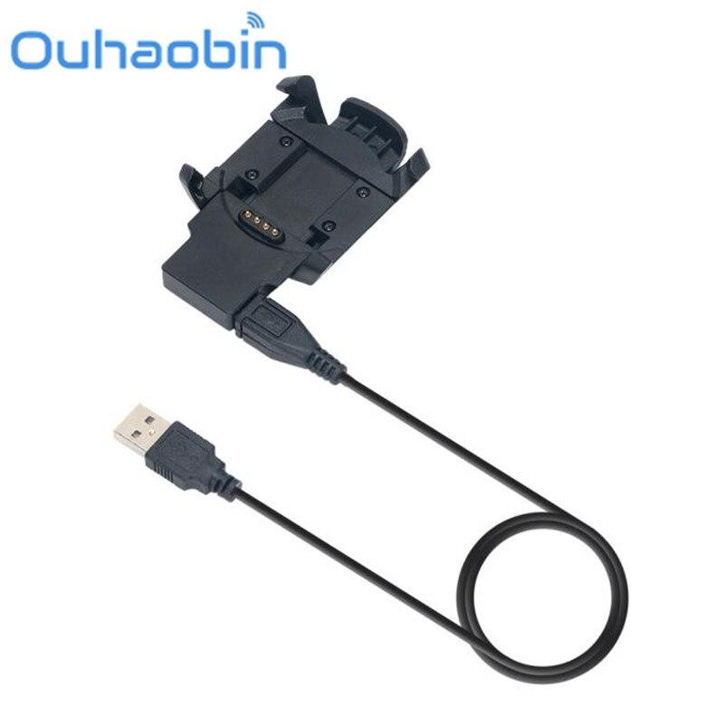 Ouhaobin 1 M USB Dock Chargeur De Charge Câble de Données Pour Garmin Fenix 3 RH Montre Septembre 29 Dropship/En Gros