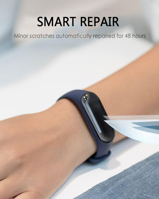 1/2/3/4/5pcs HD Screen Protector For Xiaomi Mi Band 4 Smart Watch Tempered Hydraulic Film Anti Scratch Smart Accessories