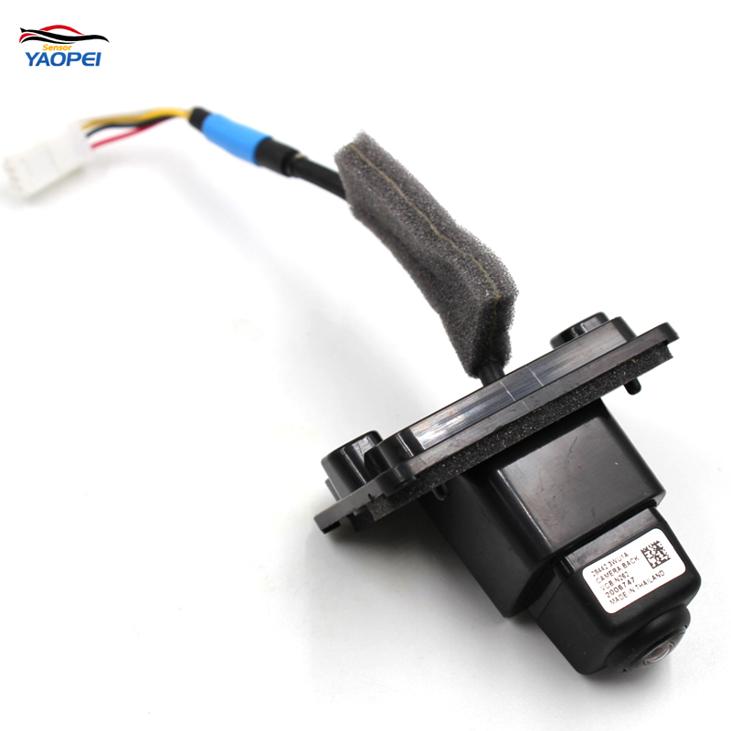 YAOPEI NEW REAR VIEW BACK UP PARKING AID REVERSE CAMERA 28442-3WU1A Fit For 2016 Infiniti QX50 28442 3WU1A/2005604 for ford escape maverick mariner car parking sensors rear view back up camera 2 in 1 visual alarm parking system
