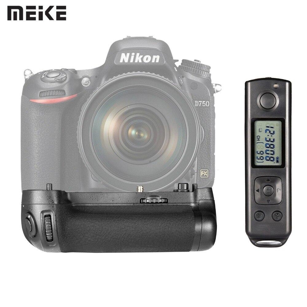 цена на EACHSHOT MK-DR750 Built-in 2.4g Wireless Control Battery Grip for Nikon D750 AS MB-D16