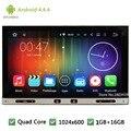 "Android 4.4.4 7 ""HD 1024*600 Quad Core 16 GB 2 Din Universal de Coches Reproductor de DVD GPS de Radio PC Estéreo De Pantalla Para Nissan x-trail navara"
