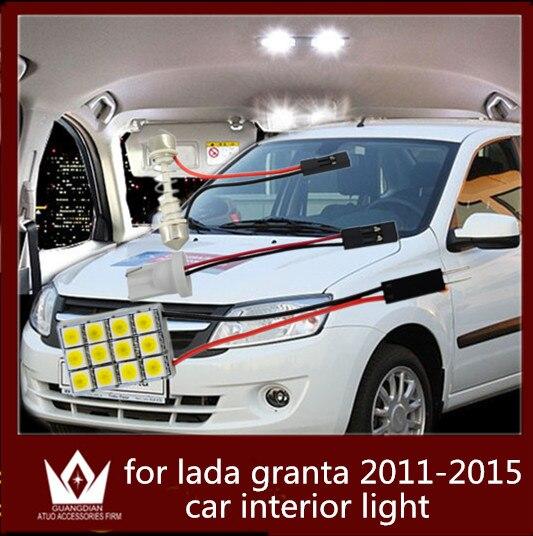 guang dian car light interior light dome lamp light cargo lamp kit t10 festoon for lada granta. Black Bedroom Furniture Sets. Home Design Ideas