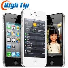 Завода разблокирована оригинальный Apple iphone 4S 8 ГБ 16 ГБ 32 ГБ 64 ГБ мобильный телефон Dual core Wi-Fi gps 8.0MP 3,5 «сенсорный экран iOS используется