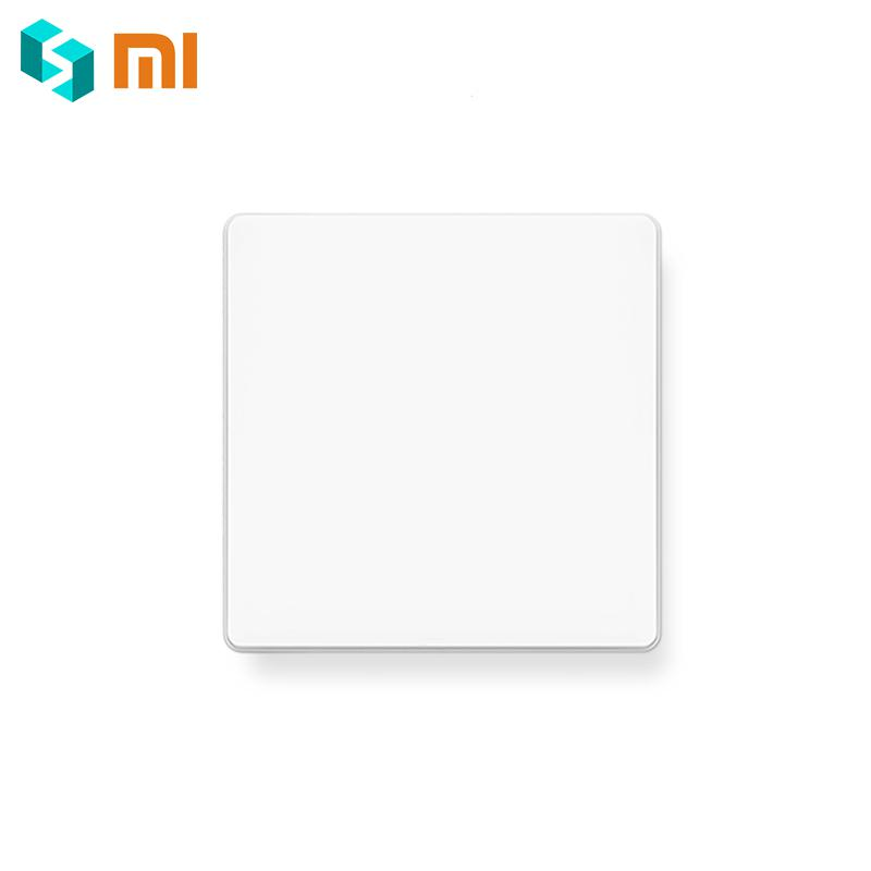 Original Xiaomi Mijia Aqara Wall Switch Zigbee Version Smart Light Switch Control Wireless Key Mihome Remote Control APP Control 2018 xiaomi ecological chain brand wima electro mechanical anti theft smart cylinder zigbee version mihome app control 5pcs keys