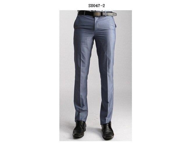 Best Ing New Men Office Slim Trouser Formal Full Length Suit Pants