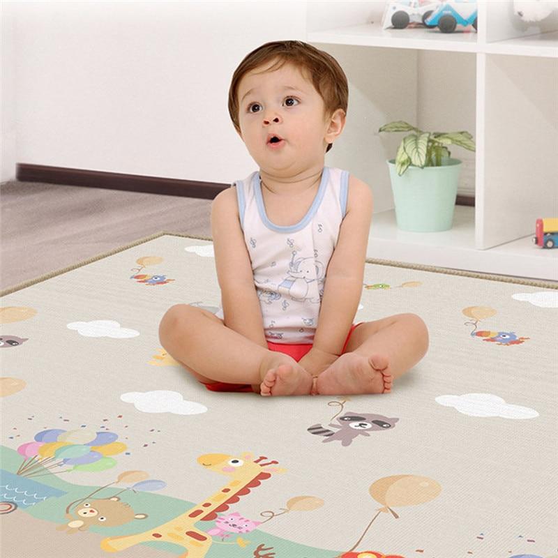 Enfants Bébé Ramper Épais Tapis de Jeu Jeu Tapis Enfants Tapis Floorcover Intérieur Extérieur Tapis