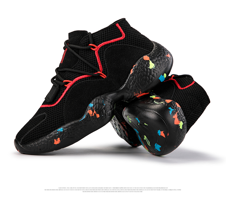 HTB1l.lkavvsK1RjSspdq6AZepXaC Shoes For Men Sneakers Casual Men Sock Shoes Breathable Tenis Masculino Adulto High Top Man Trainers Zapatos Hombre Sapatos