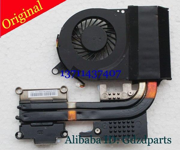 Оригинальные охлаждающий вентилятор с радиатором для Acer Aspire V3 V3-731 V3-771 V3-771G серия 13N0-AUA0902 DFB601205M20T 3pin DC5V 0.5A