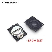 2PCS/Lot LCD Monitor/TV Speaker Horn 2W 8R 2027 2720 Loud speaker 8 ohms 2 Watt 20*27MM thickness 6.3MM