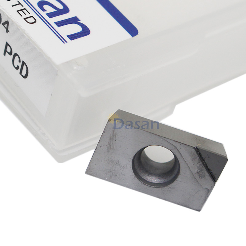 10PCS PCD APKT 160404 MILLING Diamond Tipped Turning Inserts Blade CNC Lathe Cutter For BAP400R Holder