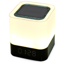 MUSKY DY28 Portable Wireless Bluetooth Stereo Speaker Support AUX Audio Input Handsfree Call Time Alarm Model(China)