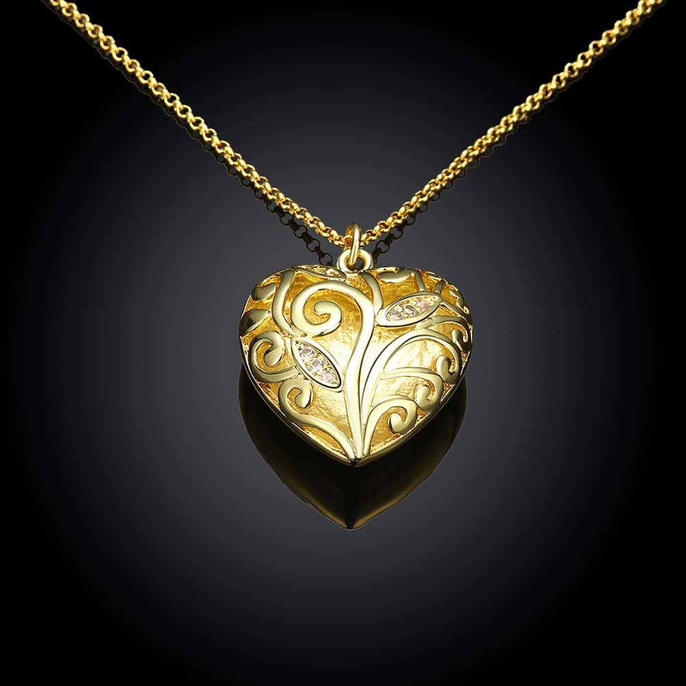 Gold Color Necklace  Party Engagement Gift Drop Shipping Factory Price  Wholesale Jewelry