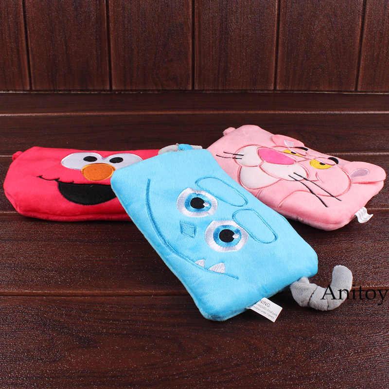 Sesame street Elmo Thủy Thủ Moon Cat Luna Monsters Inc Stitch Đồ Chơi Câu Chuyện Phim Hoạt Hình Nước Ngoài Sang Trọng Tay Điện Thoại Túi Mềm Thú Nhồi Bông con Búp Bê đồ chơi