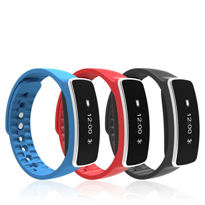 S1 V5S Smart Bracelet Bluetooth Fitness Tracker Smartband OLED Display Pedometer SMS Call Reminder Anti lost