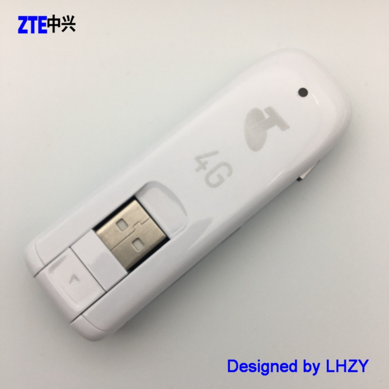 Original Unlocked ZTE MF821 100Mbps 4G LTE USB modem FDD 1800/2100/2600MHz 42M dongle free shipping huawei logo e3372 4g lte usb dongle modem fdd 700 900 1800 2100 2600mhz with crc9 antenna
