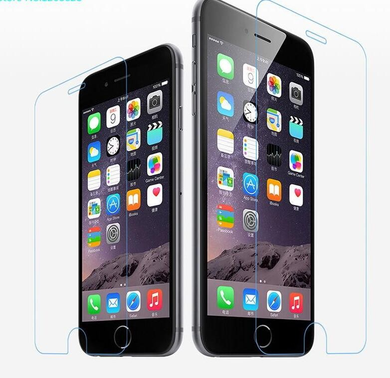 Wang cang li 5pcs tempered glass for iphone 4s 5 5s 6 6s plus 7 plus screen protective film protective film front cover + set 2