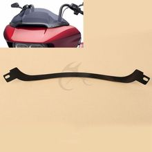Motorcycle Black Center Windshield Trim For Harley Touring Road Glide Ultra FLTRX Special FLTRXS 2015-17