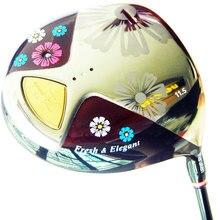 Cooyute New Women Golf Clubs Maruman FL Golf Driver 11.5 loft Golf Graphite shaft L Flex Driver shaft Free shipping
