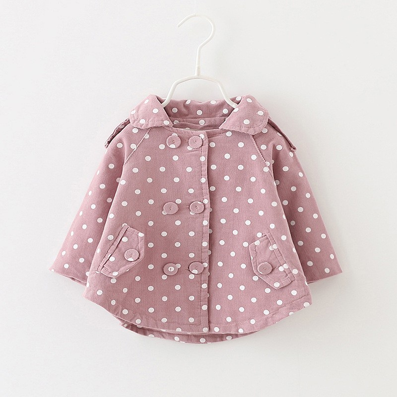 Baby girls jackets cardigan baby coat children clothing coats