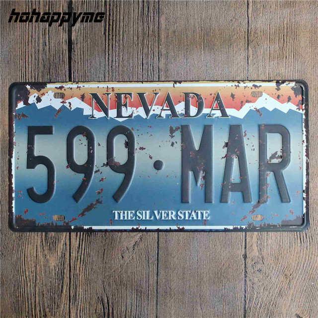 Vintage Metal Signs Plate 4