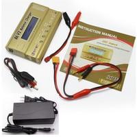 Htrc imax b6 v2 80 w 6a rc carregador de equilíbrio para liion/vida/nicd/nimh/bateria de alta potência lihv imax b6 carregador + 15 v 6a adaptador ac|Carregadores| |  -