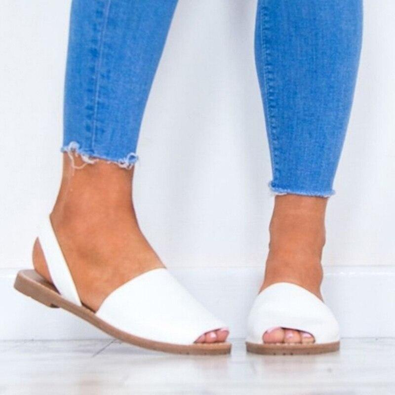 Aufrichtig Bigsweety Plus Größe 35-43 Wohnungen Sandalen Sommer Frauen Sandalen Mode Casual Schuhe Für Frau Europäischen Rom Stil Sandalen Weibliche