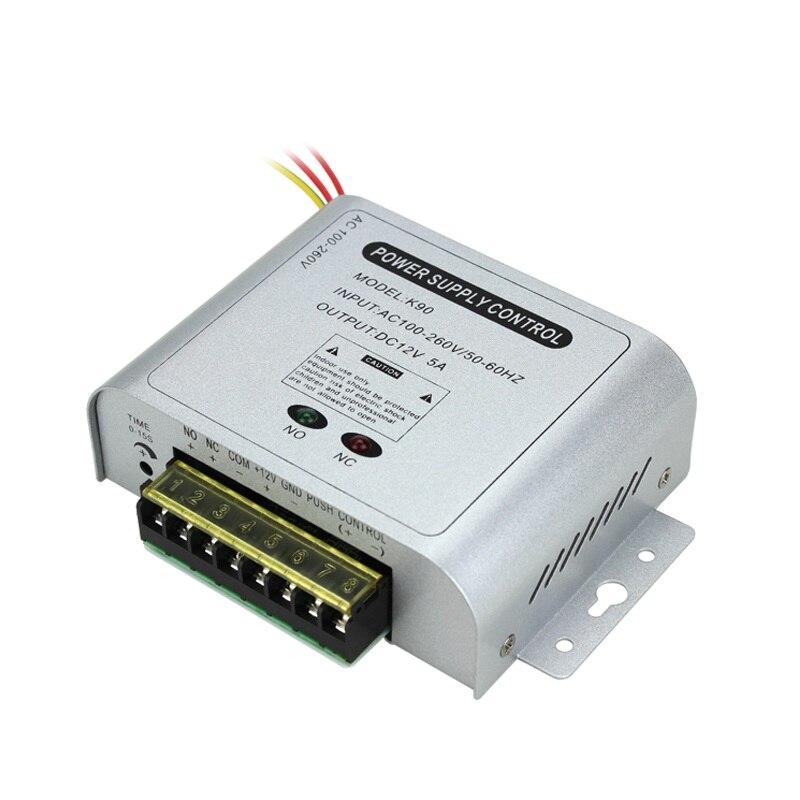 все цены на 12V 5A Mini Universal Delay Power Supply Adapter for Door Access Control System онлайн