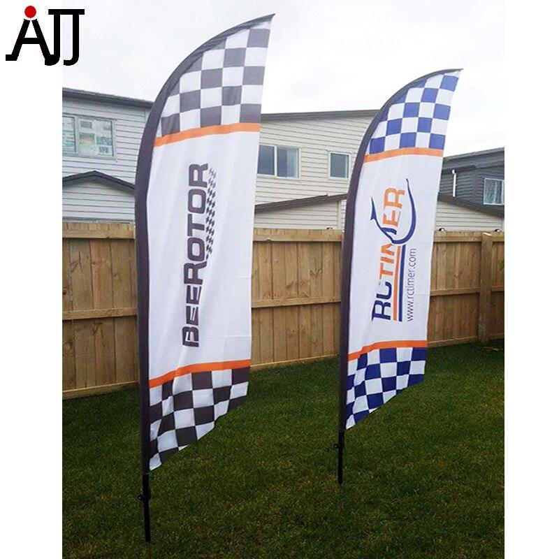 RCTIMER LOGO 250x50 cm FPV Bandera de carreras varillas delgadas de fibra de vidrio especialmente diseñadas azul RCT Flag 2-in Partes y accesorios from Juguetes y pasatiempos    1