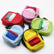 Bag Accessories Handmade Doll Backpack For 18 inch American  Generation Cute Kids Gifts 5 Colors Mini