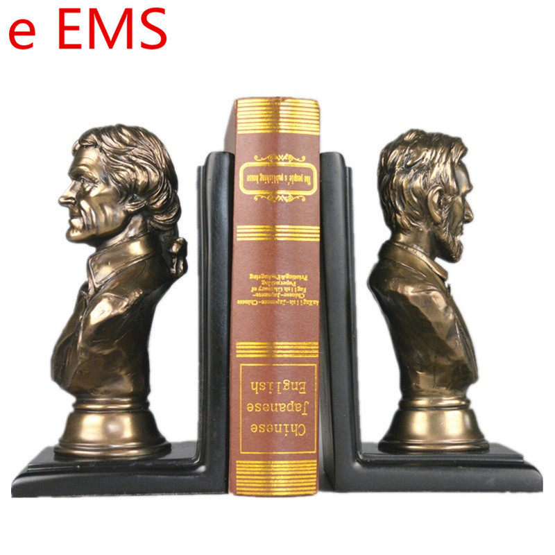 Gypsum POTUS Bookends Statue Abraham Lincoln Bust Statesman Teaching Aids Resin Art & Craft Home Decorations L2347Gypsum POTUS Bookends Statue Abraham Lincoln Bust Statesman Teaching Aids Resin Art & Craft Home Decorations L2347