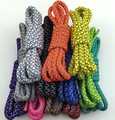 55inch/140cm Men Women 3M Reflective Round Shoe Laces All Sneaker Shoestrings Safty Shoelaces Rope Runner