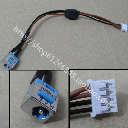 WZSM Free Shipping New DC Power Jack with Cable for <font><b>Acer</b></font> Aspire 5620 5620G 5620Z 4710G 4310 <font><b>4920</b></font> image