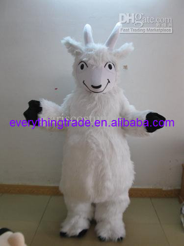 Hot sale 2017 Adult sheep mascot costume fancy dress goat mascot outfit carnival costumes
