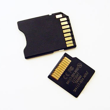 Mini SD with Card adapter Memory card 2G...