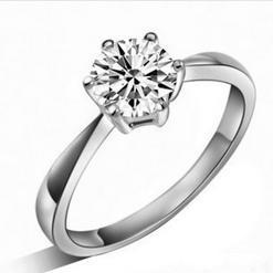 2016 hot sell fashion high quality 925 sterling silver CZ zircon ladies wedding rings finger ring jewelry gift drop shipping