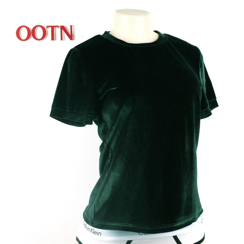 HTB1l.qlPpXXXXcwaXXXq6xXFXXXY - Summer Tops Short Sleeve Cotton Velvet T Shirt Women