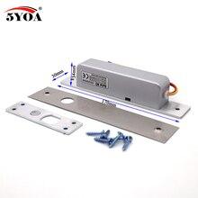 صغيرة الراقية الباب الكهربائية بولت نقر قفل لباب قفل الوصول التحكم DC 12 فولت الفولاذ المقاوم للصدأ NC الإلكترونية
