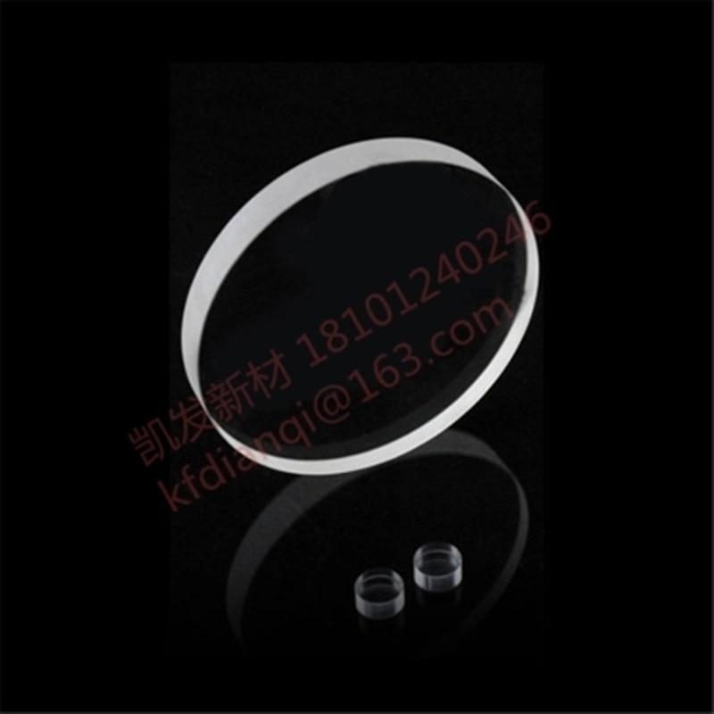 Sapphire Square-Al2O3 одиночный Кристалл substrate-D10.0 * 0.4mm-glasfolie-Epitaxial покрытие-двойная полировка