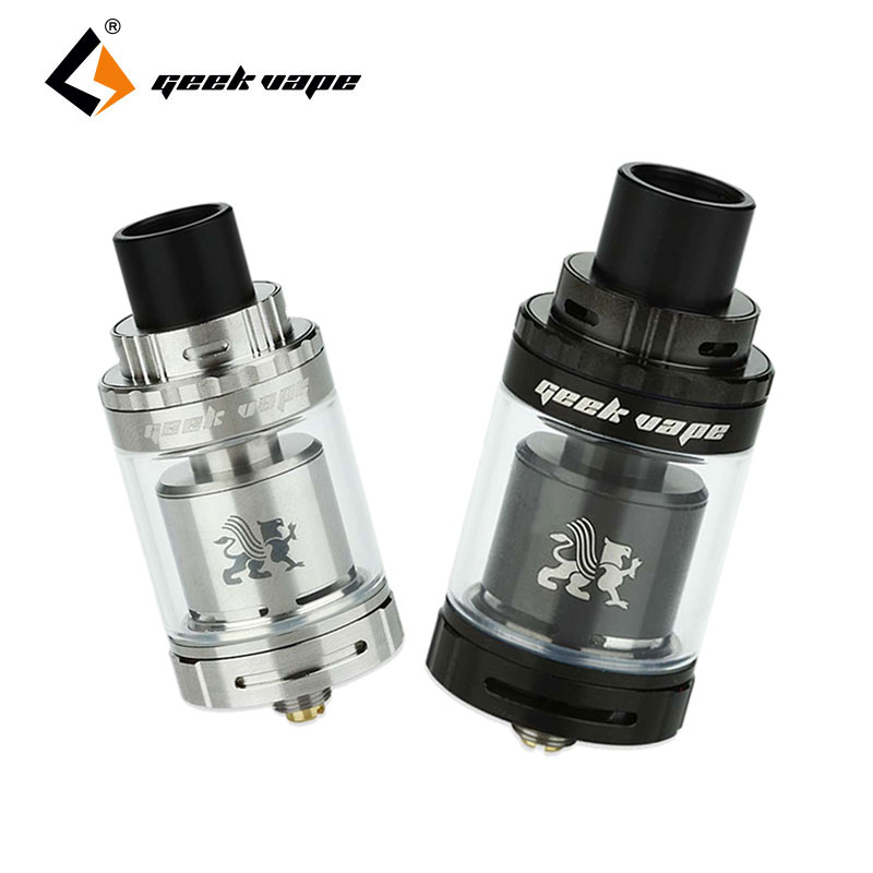 Original Geekvape Griffin 25 Mini RTA 3ml Griffin 25 Mini Atomizer Top Airflow Top Filling E-cig Vaping Rebuildable Atomizer geometric print wrap shorts