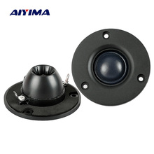 Aiyima 2PC 3Inch Audio Speaker Tweeter Hifi 4Ohm 8Ohm 15W Silk Film Treble Speaker Neodymium Magnetic loudspeaker