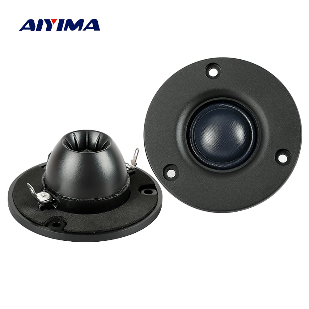 Aiyima 2PC 3Inch Audio <font><b>Speaker</b></font> Tweeter Hifi 4Ohm <font><b>8Ohm</b></font> <font><b>15W</b></font> Silk Film Treble <font><b>Speaker</b></font> Neodymium Magnetic loudspeaker image