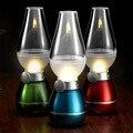 Retro iluminación interior lámpara de queroseno lámpara de escritorio luz de noche led con sensor de movimiento luz de edison de la vendimia luz de la noche para los niños