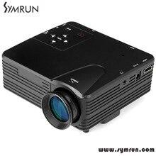 Symrun 2016 Newest Original H80 640 X 480 Pixels Full Hd 1080P Mini Led Projector Home Led 4K Projector