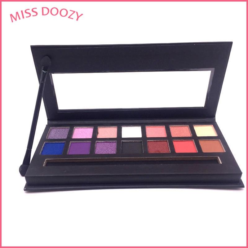 MISS DOOZY Brand Makeup Balm Eyeshadow Pallete Glitter
