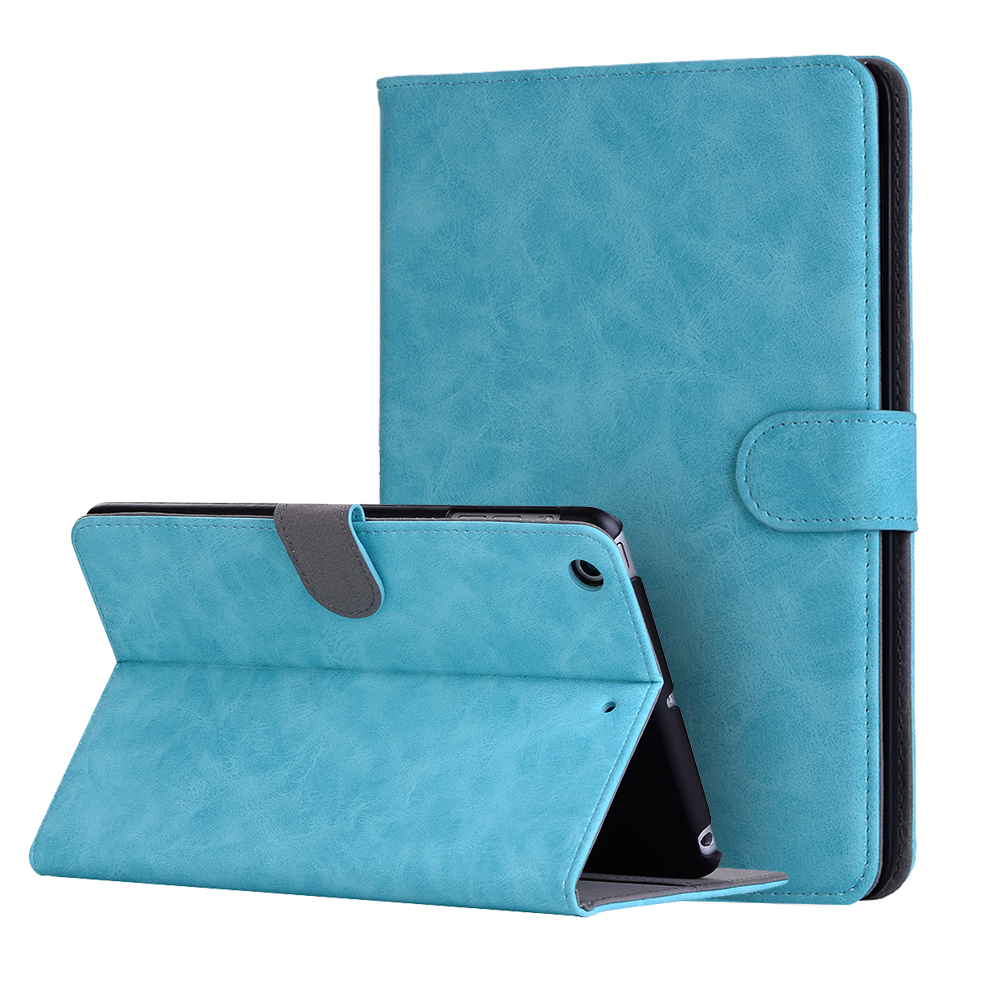 Pro 3 tablet sleeve case slim wallet pu leather protective skin pouch - Ultra Slim Retro Cloth Folio Stand Pu Leather Protective Skin Cover Shell Sleeve Case For Apple Ipad Mini 1 2 3 7 9 Inch Tablet