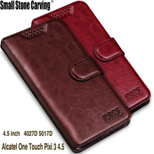 Para Alcatel One Touch Pixi 3 4,5 funda 4,5