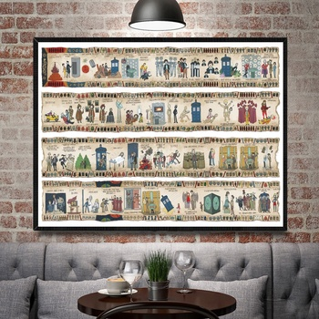 Doctor Who Art Silk Poster En Print Wall Art Foto Schilderij Home Decor