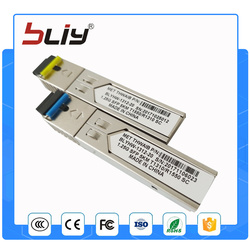 SC connector gigabit 5km DDM BIDI mini gbic sfp module 1.25G Otdr optical tranceiver module for mikrotik cisco compatible