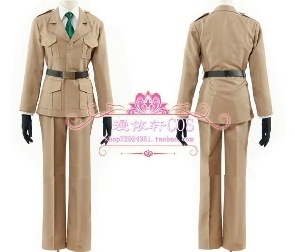 APH Axis Powers Hetalia male US USA America Cosplay Costume custom